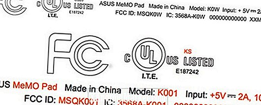To Asus MeMo Pad tabletter passerer FCC til godkendelse