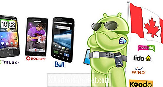 Oh Canada!  De beste Android-telefoons onthuld in Canada