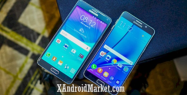 Samsung Galaxy Note 5 vs Galaxy Note 4