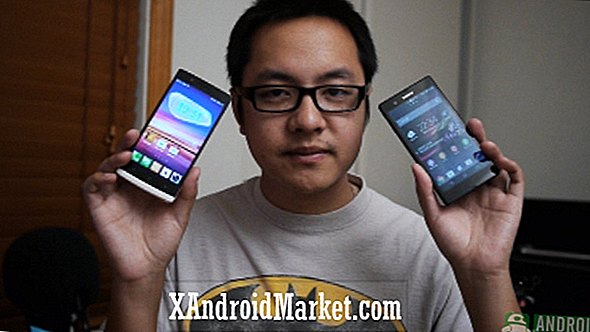 Sony Xperia Z vs Oppo Find 5 (video)