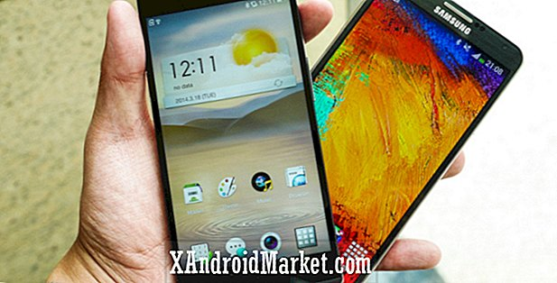 Oppo Find 7 vs Samsung Galaxy Note 3 coup d'oeil