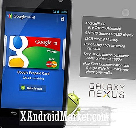 Sprint Galaxy Nexus a 32 Go de stockage interne