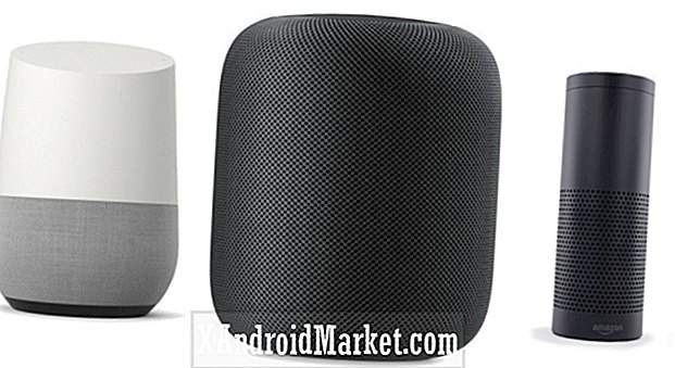 Google Home vs Amazon Echo vs Apple HomePod: funktioner sammenligning