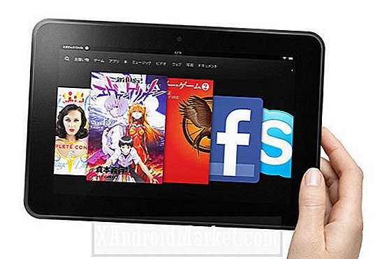 Amazon begynner å ta pre-order for Kindle Fire HD 8.9 i Japan