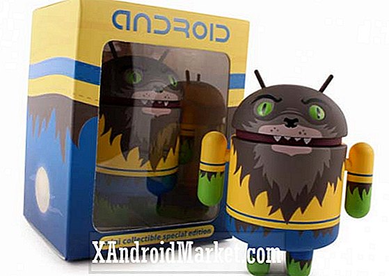 Haal je Halloween op deze limited edition weerwolf android collectible