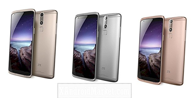 ZTE's high-end AXON Mini, AXON MAX en AXON Watch.
