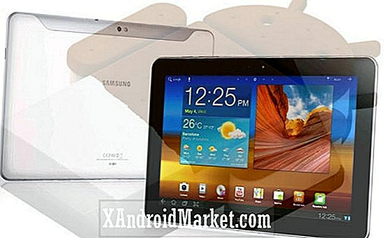 Galaxy Tab 10.1 Android 4.0.4 Ice Cream Sandwich opgradering til rådighed for GT-P7500 model