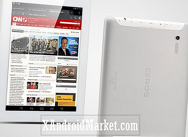 Ceros Revolution recension - Quad core, 2048 x 1536, 9,7 tums tablett