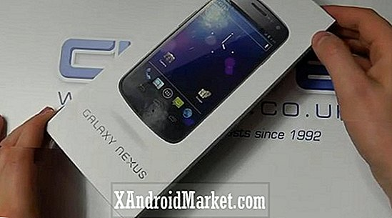 Les actions Galaxy Nexus sans carte SIM arrivent à Clove UK
