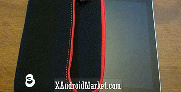 Nexus 7 tilfeller eller ermer;  Kroo Neoprene Sleeve Review