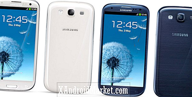 Samsung Galaxy S3 - Hvid Keramik vs Pebble Blue [Video]