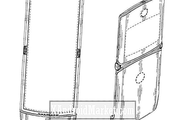 Motorola patent arkivering tips på Razr telefonens folding display design