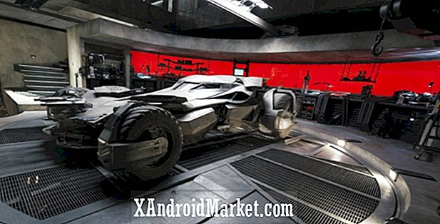 Wander the Batcave avec Google Maps