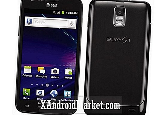 AT & T's Samsung Galaxy S2 krijgt Android 4.0.4-software-upgrade