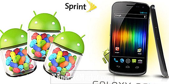 Android 4.1.1 Jelly Bean arrivant pour Sprint Galaxy Nexus et Nexus S 4G