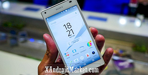 Xperia Z5 Compact touchscreen fast landing næste uge