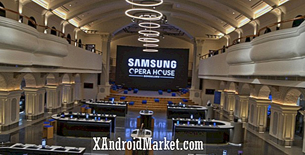 Samsung a transformé l'opéra de Bengaluru en son plus grand magasin