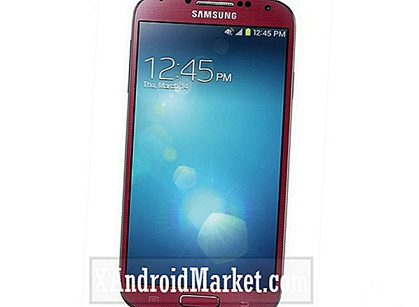 Galaxy S4 in Aurora Red verkocht via AT & T