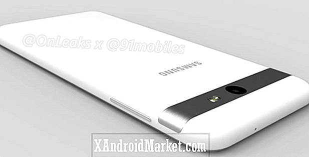 Samsung Galaxy J7 2017 lækker i renders og 360 video