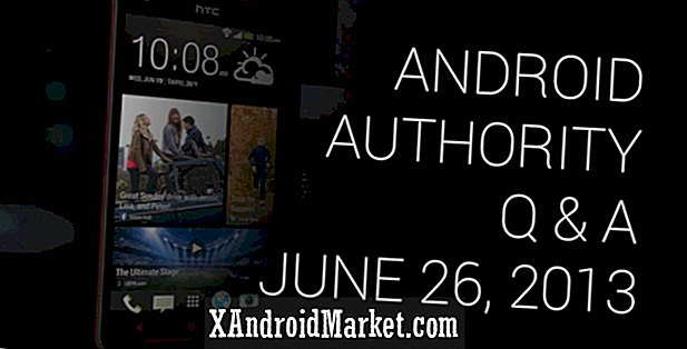 Android Authority Q & A # 004 - 26 juni 2013