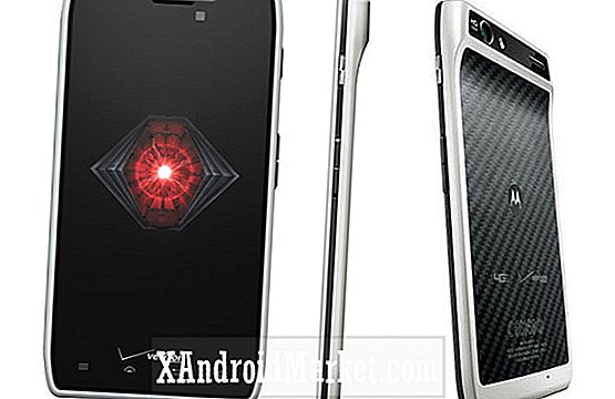 Motorola Droid RAZR in White, eindelijk in Verizon