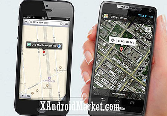 Apple Maps vs Google Maps: #iLost Motorola (Google) annoncer poker sjovt på iPhone 5 og iOS 6 Maps-problemerne