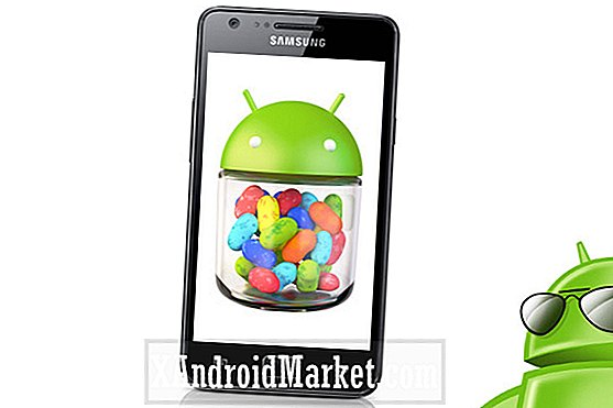 Samsung Galaxy S2 på Vodafone UK uppgraderas till Android 4.1.2 Jelly Bean