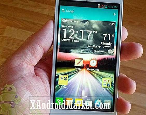 LG Optimus 4X HD Jelly Bean opdatering ruller ud i Europa