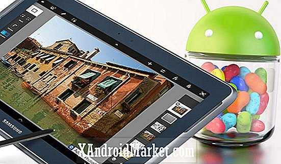 Samsung ruller ut Android 4.1 Jelly Bean oppdatering for Wi-Fi Galaxy Note 10.1 i Tyskland