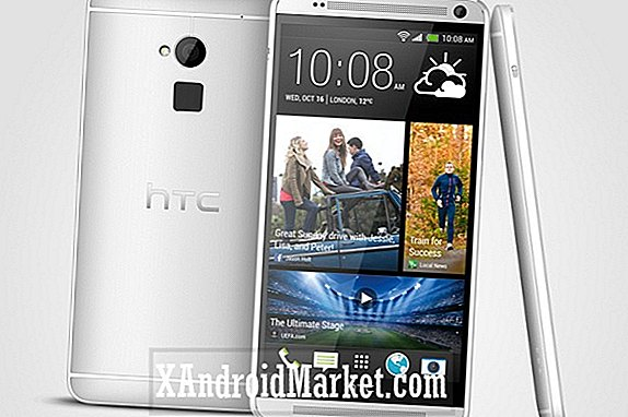 Met de HTC One Max-pers lekt de branding van AT & T en Verizon