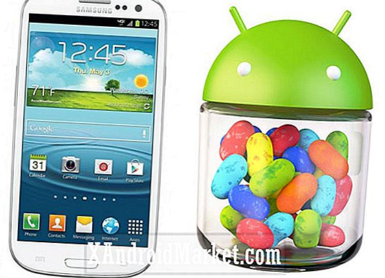 Android 4.1.2 Jelly Bean sort pour le Galaxy S3 de Samsung sur Three UK