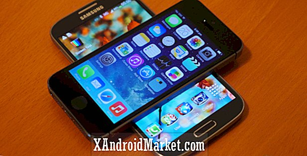 iPhone 5s vs Samsung Galaxy S4: coup d'oeil