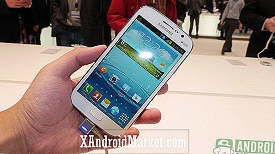 MWC 2013: Samsung Galaxy grand hands-on preview [video]
