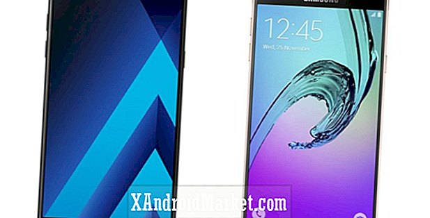 Samsung Galaxy A7 (2017) vs Samsung Galaxy A7 (2016) comparaison de spécifications