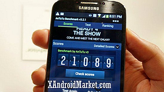 US Galaxy S4 vs HTC One vs NVIDIA Tegra 4 était en début de comparaison