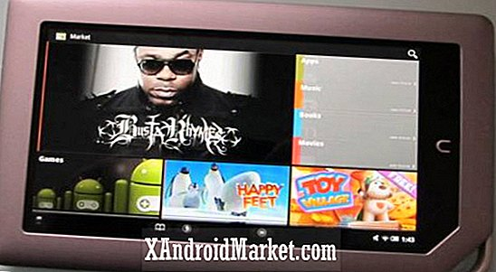 NOOK tablet rooted, toestaat Android Market Install