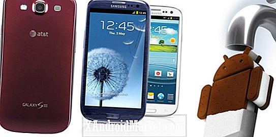 AT & T Samsung Galaxy S3 får mindre softwareopdatering, ingen Jelly Bean endnu