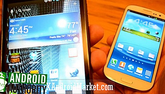 Samsung Galaxy S3 vs Verizon LG Intuition