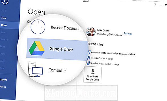 Un plug-in officiel apporte la prise en charge de Google Drive à Microsoft Office