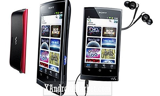 Sony kommer ud med New Android Powered Walkman Line
