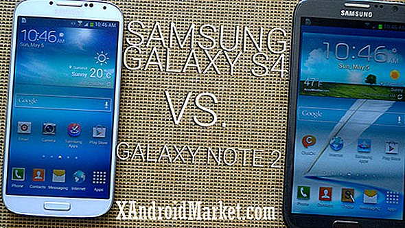 Samsung Galaxy S4 Vs.  Galaxy Note 2