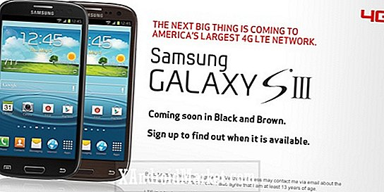 Verizon Wireless aura bientôt le Samsung S3 Galaxy en noir et marron