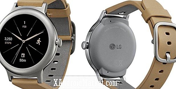 (Opdatering: For at starte på $ 249, $ 349 for Sport model) Så dette er LG Watch Style