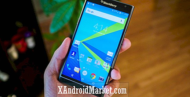 Marshmallow is uit voor de BlackBerry Priv op AT & T