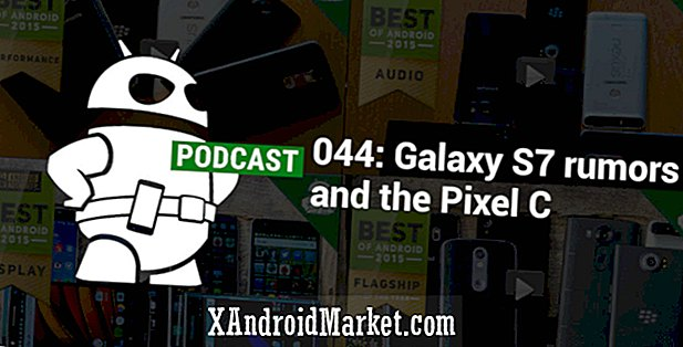 Galaxy S7 rygter og Pixel C |  Podcast 044