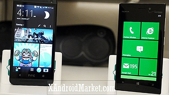 HTC One vs Nokia Lumia 928 (video)