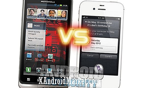 Motorola DROID Bionic vs Apple iPhone 4S: Pitting the New and the Upgraded Rehash