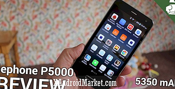 Elephone P5000 recension - en 5 tums full HD-smartphone med ett 5350 mAh batteri