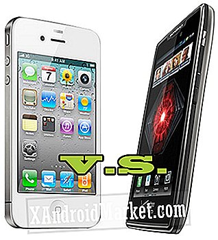 Droid Razr Maxx contre iPhone 4S