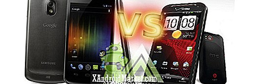 Samsung Galaxy Nexus vs HTC Rezound: Superphone Battle for the Holidays